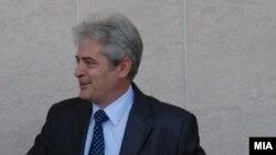Претседателот на ДУИ Али Ахмети