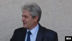 Лидерот на ДУИ Али Ахмети
