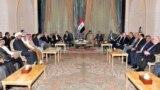 اجتفاع لفعاليات سياسية عراقية (من الارشيف)