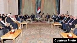 اجتماع لكبار السياسيين العراقيين