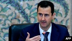 Syrian President Bashar al-Assad said the conflict in Syria could only be settled after terrorism was stamped out in the country. (file photo)