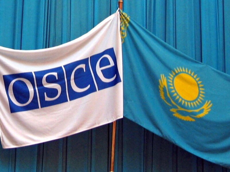 OSCE and Kazakhstan flags (Photo: rferl.org)