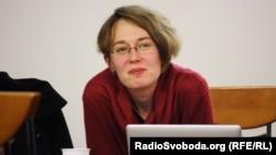 Ірина Забіяка на зустрічі у Празі