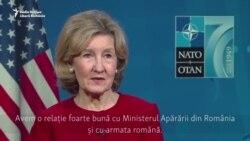 """Ambasadorul SUA la NATO: """"Vom continua să întărim relațiile și cooperarea noastră militară cu România"""""""