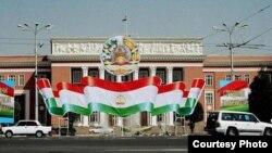 В центре Душанбе.