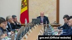 Premierul Pavel Filip și membrii cabinetului său