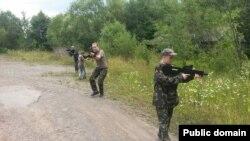 Військово-тактична гра у Карпатських бескидах. Фото з Facebook