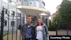 Вадим Хайруллин и Любовь Сальникова, фото Анастасии Нехаевой