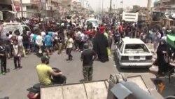 انفجارها در بغداد دهها کشته برجای گذاشت