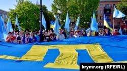 Митинг-реквием ко Дню памяти жертв депортации крымскотатарского народа, 18 мая 2017 года
