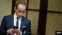 U.S. President Donald Trump's chief policy adviser Stephen Miller (file photo)