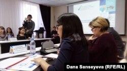 Презентация доклада «Молодежь Казахстана». Астана, 29 ноября 2017 года.