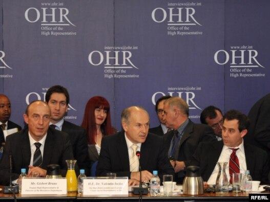 Sa sjednice Vijeća za provedbu mira u februaru 2010