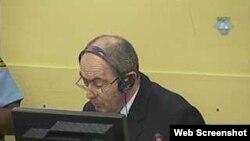 Zdravko Tolimir u sudnici