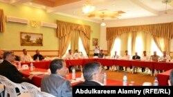 جلسة لمجلس محافظة البصرة