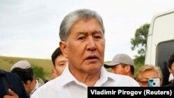 Қирғизистоннинг собиқ президенти Алмазбек Атамбаев.