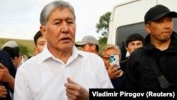 Kyrgyz ex-President Almazbek Atambaev (file photo)