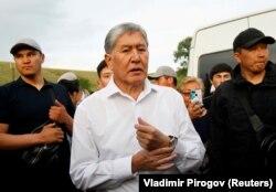Алмазьбек Атамбаеў. 2019 год.