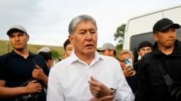ГIиргIазойчоьнан хилла президент Атамбаев Алмазбек