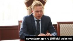 Российский губернатор Севастополя Дмитрий Овсянников