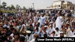 Thousands of Pashtun protesters participated in a sit-in protest in Miran Shah from August 24 to 26 in Miran Shah, the administrative headquarter of North Waziristan tribal district.