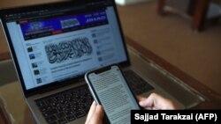 Taliban sözçüsü Zabihullah Mujahid-in göndərdiyi mesajlar