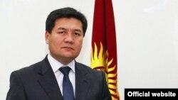 Қырғыз парламенті депутаттығына кандидат Кубат Оторбаев.