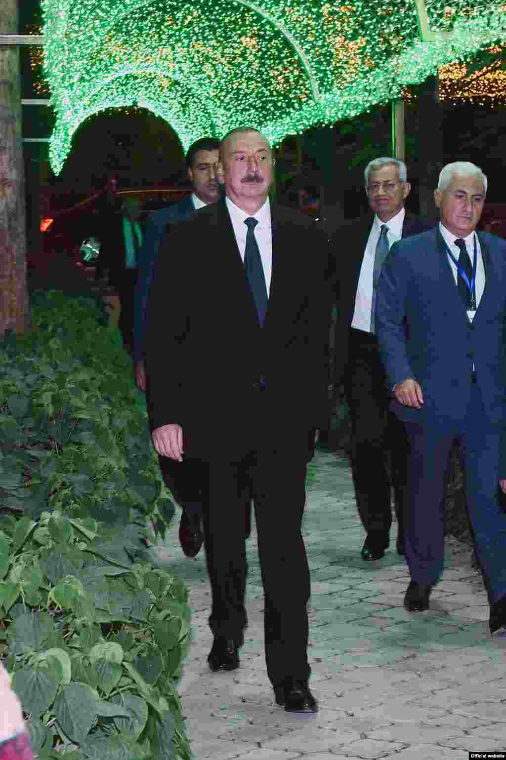 Илҳом Алиев, раиси ҷумҳури Озарбойҷон