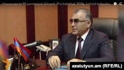 Посол Армении в Украине Андраник Манукян (архив)
