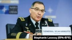 U.S. General Curtis Scaparrotti, NATO's supreme allied commander, Europe (file photo)