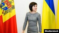 Избраната претседателка на Молдавија Маја Санду