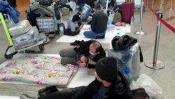 Узбекистанцы в аэропорту «Внуково»: «Десять дней лежим на полу, бабульки из жалости угощают нас конфетами»