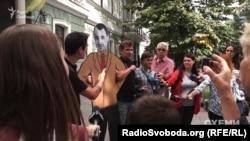Пікет активістів під одеською прокуратурою 5 вересня 2017 року