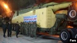 عکسی که خبرگزاری فارس از محل نگهداری موشکهای دوربرد منتشر کرده است
