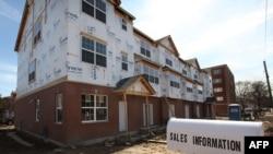 Один из продающихся домов в США