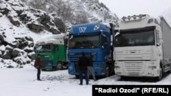 На дороге Душанбе=Худжанд. 25 февраля 2021 года