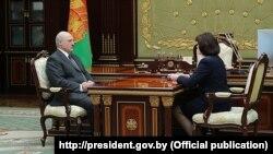 Аляксандар Лукашэнка і Натальля Качанава, архіўнае фота