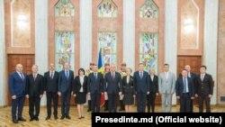 Guvernul Ion Chicu după depunerea jurământului, 14 noiembrie 2019