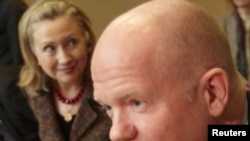 British Foreign Secretary William Hague (file photo)