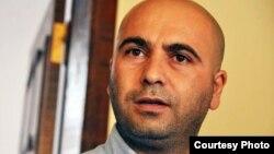 Azerbaijan -- Azeri author Seymur Baycan, undated