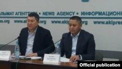 Талантбек Маткерим уулу жана Аваз Керимбаев. Бишкек. 22-декабрь, 2020-жыл.