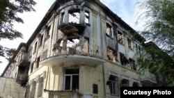 Украінскія міліцыянты са зброяй абаранялі будынак управы гарадзкой міліцыі