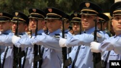 Архивска фотогарфија.Ден на македонската полиција