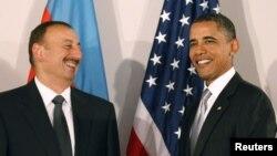 Ilham Əliyev və Barack Obama, 2010
