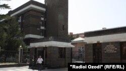 Здание МВД Таджикистана
