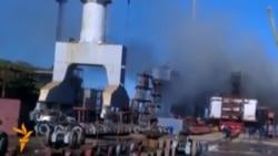 Пожежа на російському атомному підводному човні