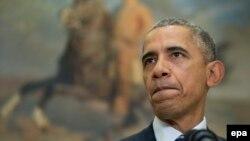 АҚШ президенті Барак Обама Ақ үйде. Вашингтон, 6 қараша 2015 жыл.