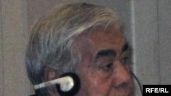 Бизнесмен Кажимкан Масимов, отец премьер-министра Карима Масимова. Алматы, 21 декабря 2009 года.
