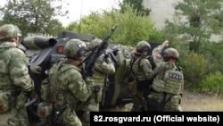 Российские учения в Крыму, архивное фото