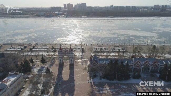 Благовєщенськ – адміністративний центр Амурської області на Далекому сході Російської Федерації